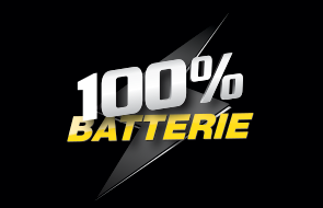 100% batterie atac piece autos
